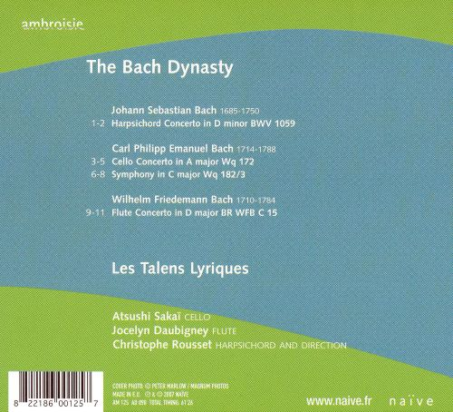 The Bach Dynasty