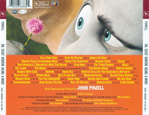 Dr. Seuss: Horton Hears a Who! [Original Motion Picture Soundtrack]