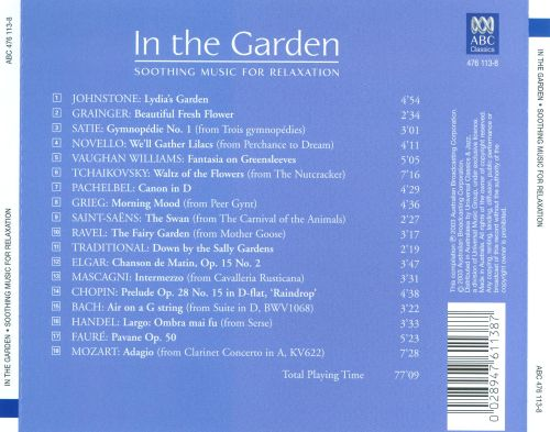 Inspiring In The Garden Soothing Music For Relaxation   Songs Reviews  With Engaging  In The Garden Soothing Music For Relaxation With Nice Asda Garden Plant Pots Also Wall Garden Design Ideas In Addition Garden Makers And Hilton Garden Inn Free Breakfast Coupon As Well As Hexham Winter Gardens Additionally Secret Garden Gate From Allmusiccom With   Engaging In The Garden Soothing Music For Relaxation   Songs Reviews  With Nice  In The Garden Soothing Music For Relaxation And Inspiring Asda Garden Plant Pots Also Wall Garden Design Ideas In Addition Garden Makers From Allmusiccom