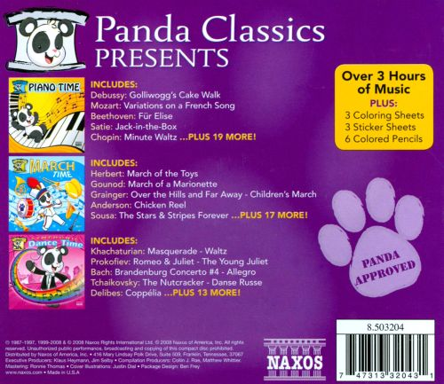 Panda Classics [Includes Toys] [Box Set]