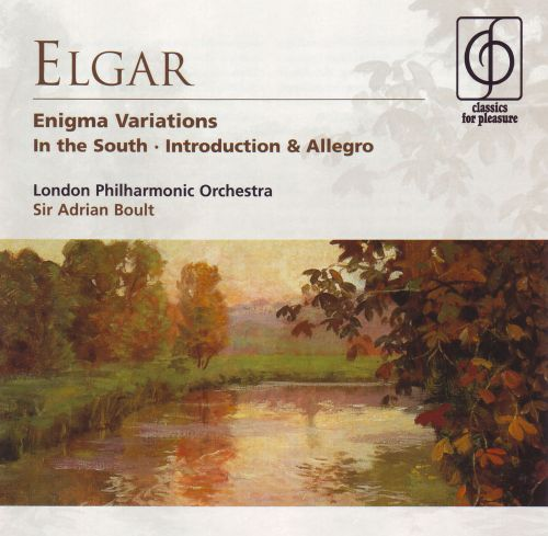 Elgar: Enigma Variations; In the South; Introduction & Allegro