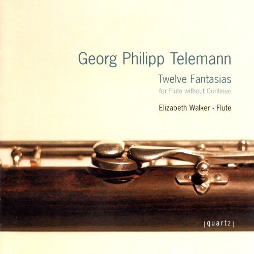 Telemann: Twelve Fantasias for Flute without Continuo