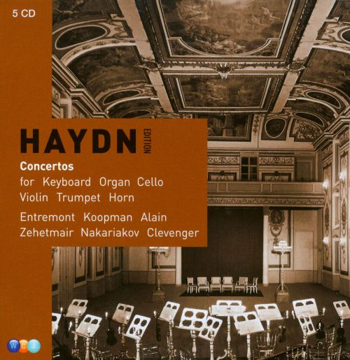 Haydn: Concertos for Keyboard, Organ, Cello, Violin, Trumpet, Horn [Box Set]