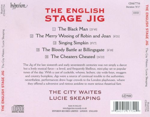 The English Stage Jig