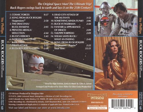 Buck Rogers in the 25th Century [Original Motion Picture Soundtrack]