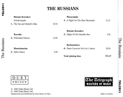 Masters of Music: The Russians
