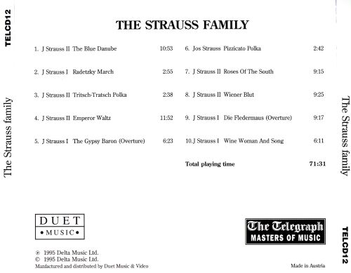 Masters of Music: The Strauss Family