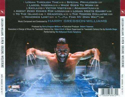 ... X-Men Origins: Wolverine [Original Motion Picture Soundtrack]