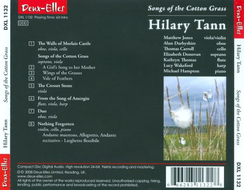 Hilary Tann: Songs of the Cotton Grass