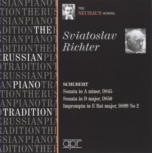 The Russian Piano Tradition: Sviatoslav Richter
