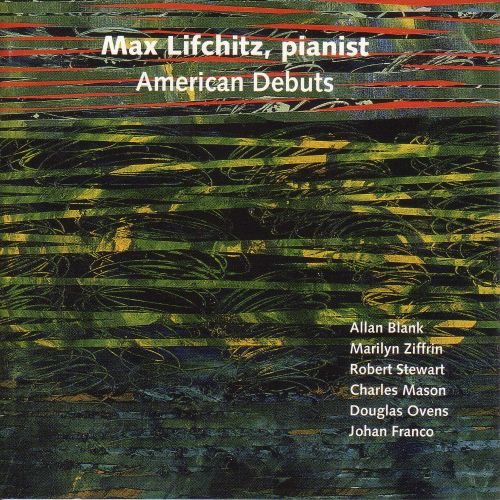 American Debuts: Piano Music by American Composers