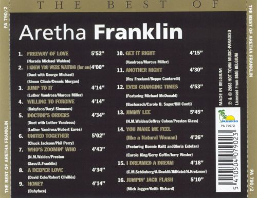 The Best of Aretha Franklin [Paradiso]