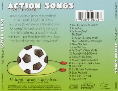 Kids' Praise: Action Songs