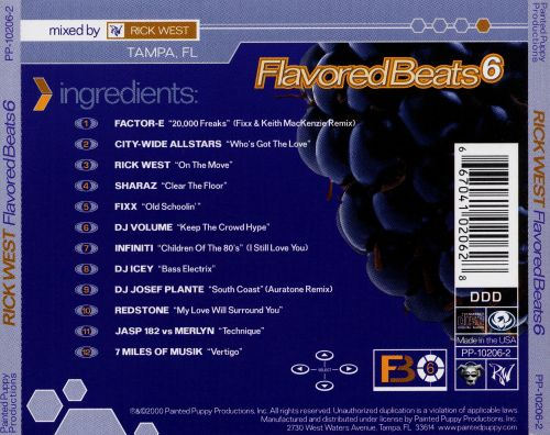 Flavored Beats 6