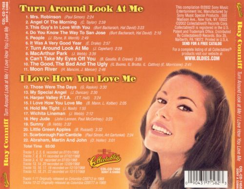 Turn Around Look at Me/I Love How You Love Me