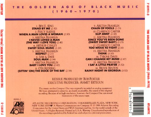 The Golden Age of Black Music: 1960-1970
