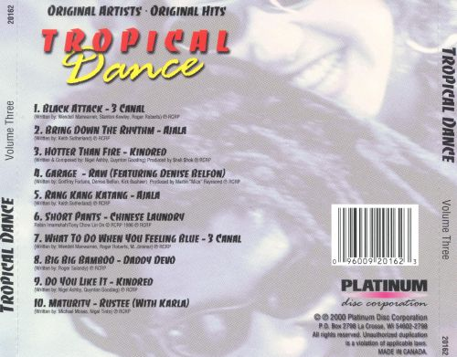 Tropical Dance, Vol. 3