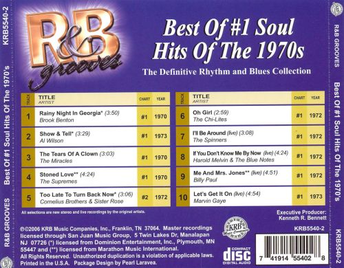 Best of #1 Soul Hits of the 1970s