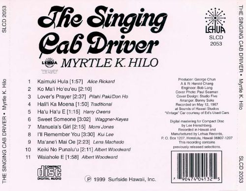 The Singing Cab Driver