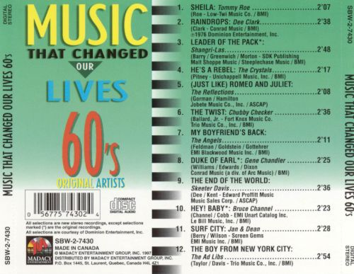 Music That Changed Our Lives: 60's