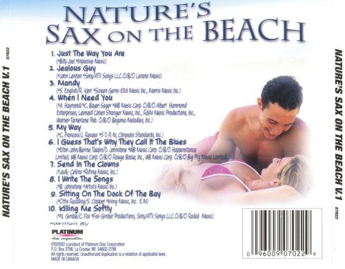 Nature's Sax on the Beach, Vol. 1