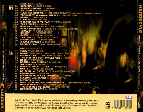 Hardstyle: The Ultimate Collection 2008, Vol. 3