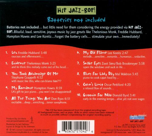 Hip Jazz Bop: Batteries Not Included