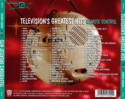 Television's Greatest Hits, Vol. 6