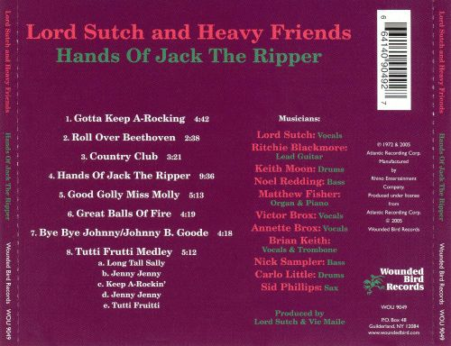 Hands of Jack the Ripper