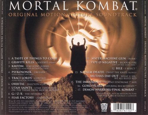 Mortal Kombat [Original Soundtrack]