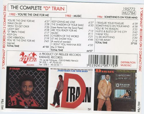 The Complete D Train on Prelude: 1982-1984