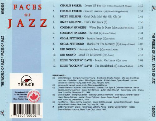The World of Jazz: Faces of Jazz