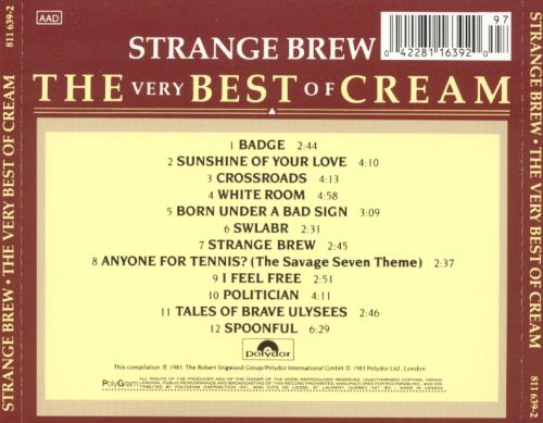 Strange Brew: The Very Best of Cream
