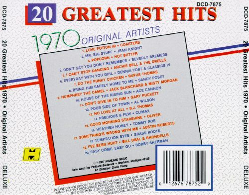 Greatest Hits 1970