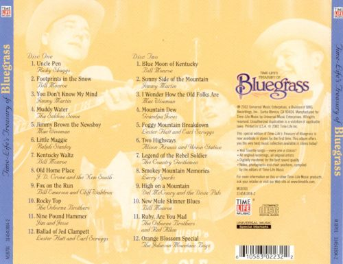 Time-Life's Treasury of Bluegrass