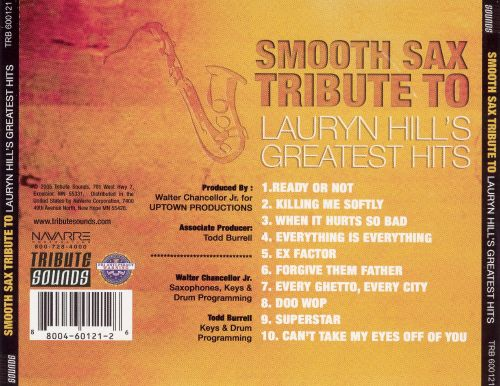 Smooth Sax Tribute to Lauryn Hill's Greatest Hits