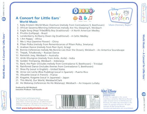 World Music: A Concert for Little Ears