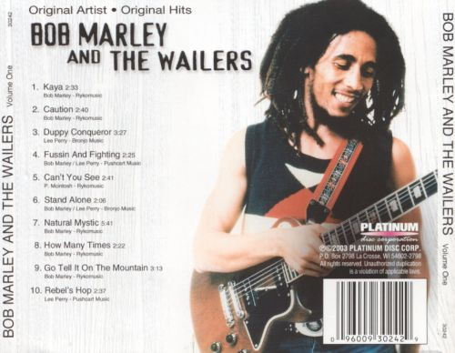 Bob Marley and the Wailers [Platinum Disc]