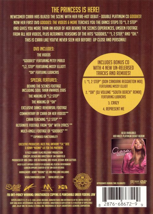 Goodies: The Videos & More [DVD]