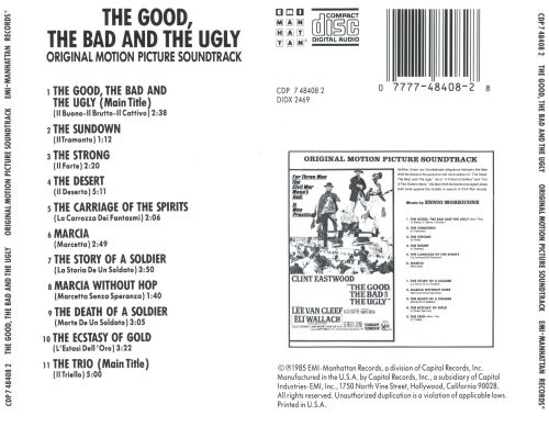 The Good, the Bad and the Ugly [Original Motion Picture Soundtrack]