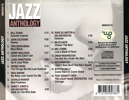Jazz Anthology [Weton]