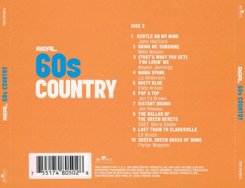Real 60's Country [Disc 3]