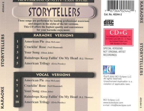 Songs Made Famous by Storytellers