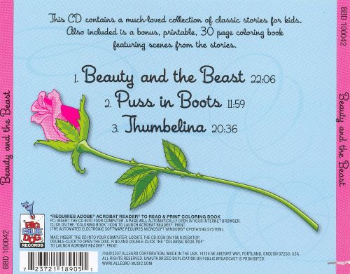 Beauty and the Beast/Puss 'N Boots