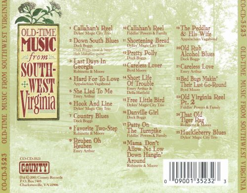 Old-Time Music From Southwest Virginia