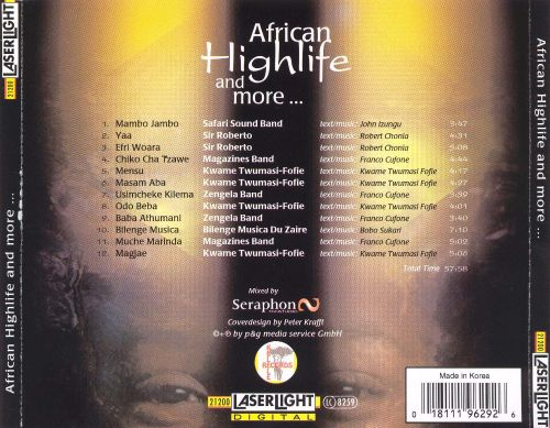 African Highlife and More...