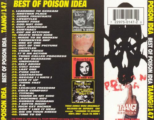 Best of Poison Idea