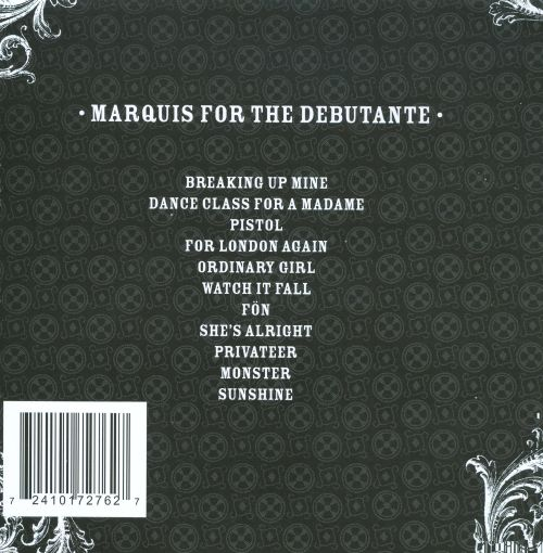 Marquis For The Debutante