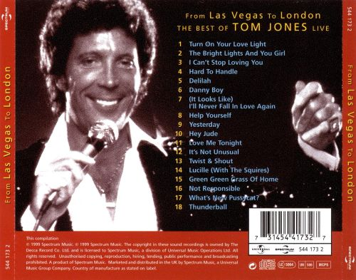 From Las Vegas to London: The Best of Tom Jones Live