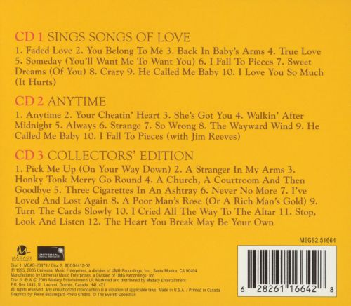 Sings Songs of Love/Anytime/Collector's Edition